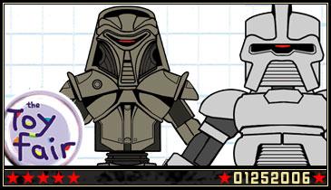 Iron-Cow Prod. Unveils Battlestar Minimates at UK Toy Fair!