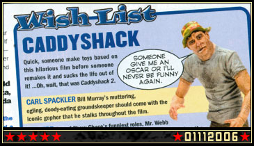 "New Custom: Bill Murray from ""Caddyshack"""