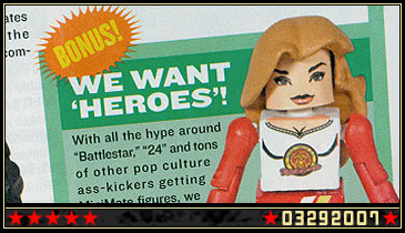 New Custom: Claire, the Indestructible Cheerleader