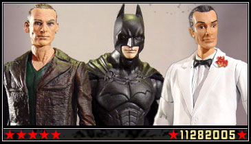 New Batman, James Bond, and Doctor Who customs added!