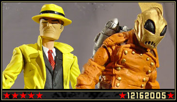 New customs: DICK TRACY and THE ROCKETEER