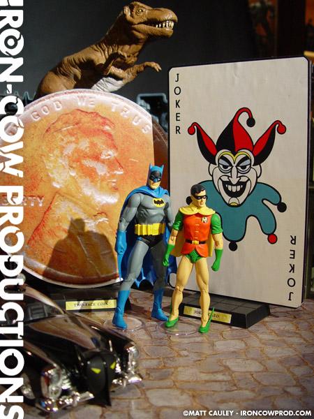 BATMAN BATCAVE JOKER CARD CUSTOM LEGO