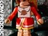 Toyfare Heroes Claire Bennet Cheerleader Minimate Custom action figure by Matt Iron-Cow Cauley
