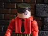 Plaid-Eye Pete - Custom Action Figure by Matt \'Iron-Cow\' Cauley