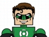 DC Wave1: Green Lantern Minimate Design (Early Concept Art) - by Matt \'Iron-Cow\' Cauley