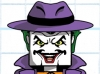 DC Wave1: Joker Minimate Design (Early Concept Art) - by Matt \'Iron-Cow\' Cauley