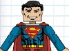 DC Wave1: Superman Minimate Design (Early Concept Art) - by Matt \'Iron-Cow\' Cauley