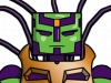 DC Wave2: Brainiac-13 Minimate Design (Early Concept Artwork) - by Matt \'Iron-Cow\' Cauley