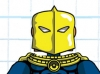 DC Wave2: Dr. Fate Minimate Design (Early Concept Artwork) - by Matt \'Iron-Cow\' Cauley