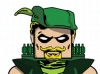 DC Wave3: Green Arrow Minimate Design (Early Concept Artwork) - by Matt \'Iron-Cow\' Cauley