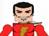 DC Wave5: Shazam Minimate Design (Early Concept Art) - by Matt \'Iron-Cow\' Cauley