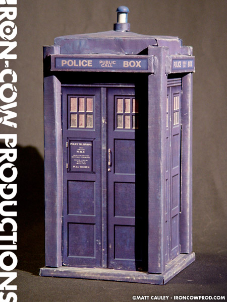 Iron Cow Productions 187 The Tardis