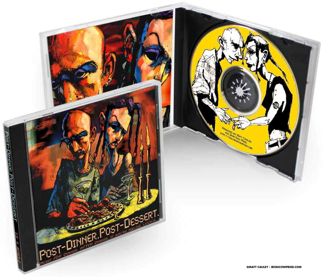 """Just To Register Emotion"" CD package"