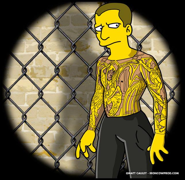 """Prison Break"" Simpsons Promo on Fox"