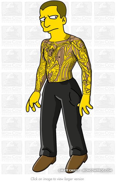 """Prison Break"" Simpsons promo on Fox. Created 2007 by Matt 'Iron-Cow' Cauley."