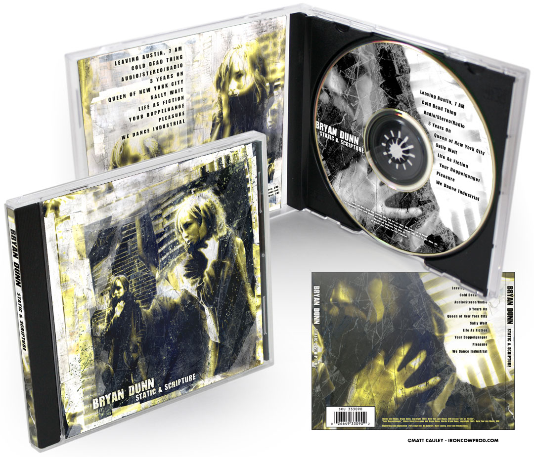 """Static and Scripture"" CD package"