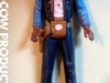 Lando Calrissean Smuggler Outfit Custom Vintage Kenner Star Wars Action Figure by Matt Iron-Cow Cauley WORK IN PROGRESS