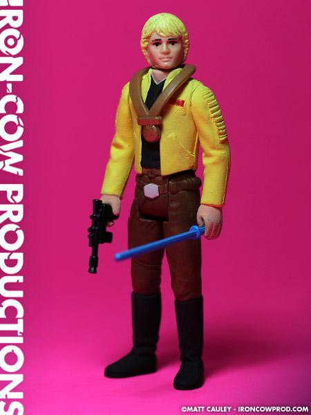 Vintage 1970s-80s Star Wars Action Figures Lot in Darth Vader