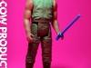 Luke Skywalker Dagobah Training Custom Vintage Kenner Star Wars Action Figure by Matt Iron-Cow Cauley