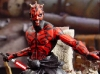 ToyFare Magazine Shirtless Darth Maul ( Ray Park ) Star Wars Episode I Phantom Menace - Custom action figure by Matt \'Iron-Cow\' Cauley