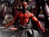 ToyFare Magazine Shirtless Darth Maul ( Ray Park ) Star Wars Episode I Phantom Menace - Custom action figure by Matt 'Iron-Cow' Cauley