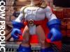 DC Playskool POWER GIRL - Custom action figure by Matt Iron-Cow Cauley - Featured in ToyFare Magazine 110