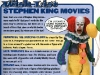 ToyFare Pennywise the Clown ( Stephen King\'s It ) - Custom action figure by Matt \'Iron-Cow\' Cauley - Featured in ToyFare #105