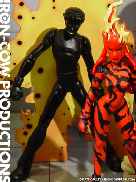 X Men Sunspot Iron-Cow Productions &...