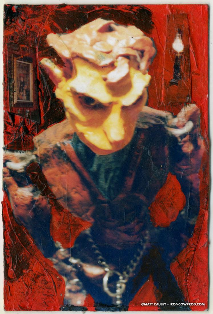 """Georgie"" (detail) - Illustration by Matt 'Iron-Cow' Cauley"