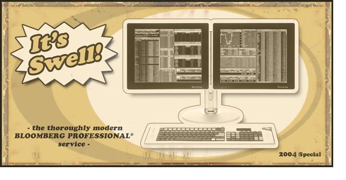 Bloomberg Retro Postcard: 2004