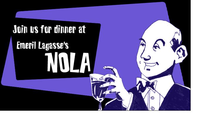 NOLA Invite Illustrations (4) - Illustration by Matt 'Iron-Cow' Cauley