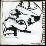 "U.S.S. INTREPID SKETCHBOOK by Matt 'Iron-Cow' Cauley - ""Cockpit"""