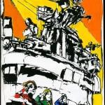 "U.S.S. INTREPID SKETCHBOOK by Matt 'Iron-Cow' Cauley - ""Salute"""