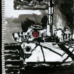 "U.S.S. INTREPID SKETCHBOOK by Matt 'Iron-Cow' Cauley - ""Tank2"""