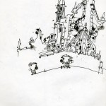 "EPCOT SKETCHBOOK by Matt 'Iron-Cow' Cauley - ""Unfinished"""