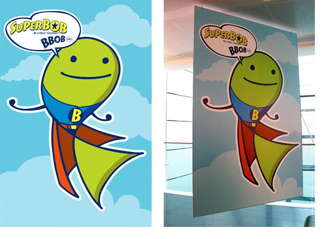 SuperBOB Floor Poster