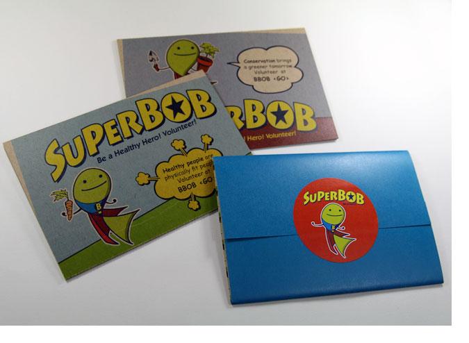 SuperBOB Postcards
