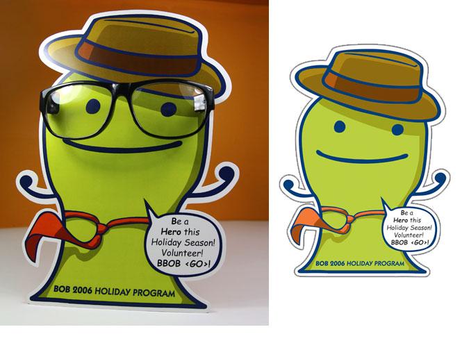 SuperBOB Inter-Office Awareness Sign