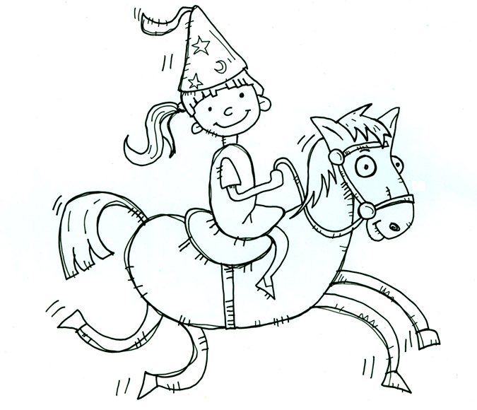 Horsey - Illustration by Matt 'Iron-Cow' Cauley