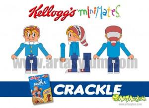 Kelloggs Minimates - Crackle