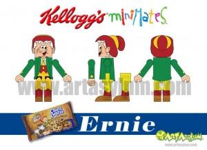 Kelloggs Minimates - Ernie