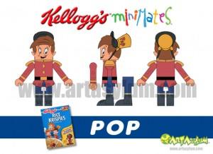 Kelloggs Minimates - Pop