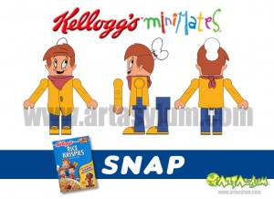 Kelloggs Minimates - Snap