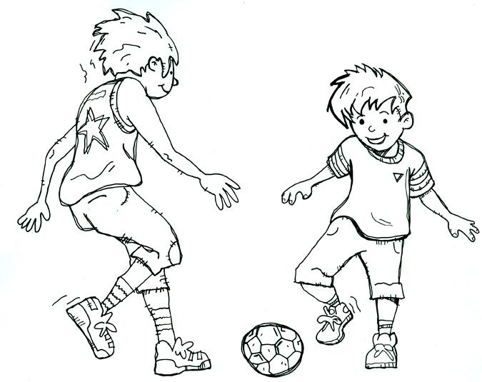 Soccer - Illustration by Matt 'Iron-Cow' Cauley