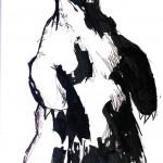 """BULL vs. BEAR SKETCHBOOK by Matt 'Iron-Cow' Cauley """"Bear Standing"""""""