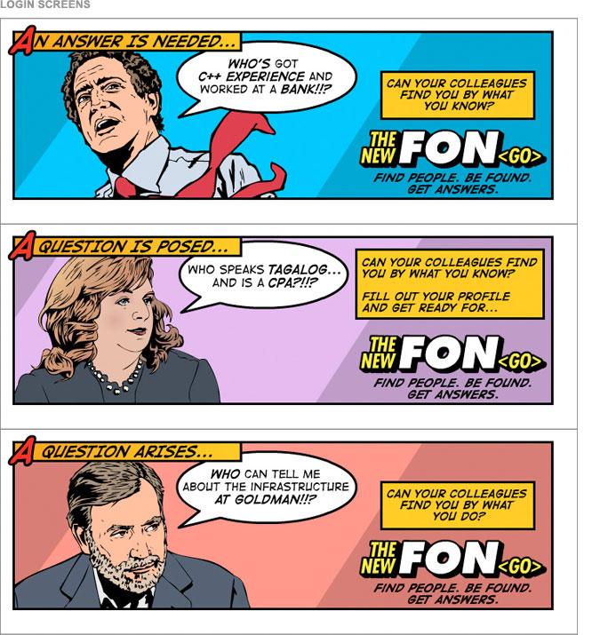 FON Campaign - Login Screen Graphics