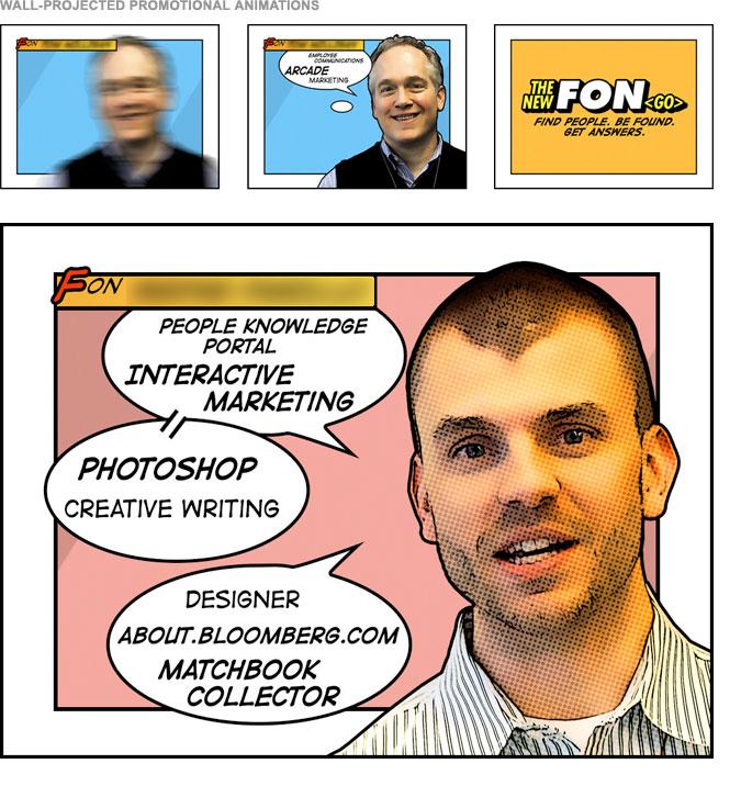 FON Campaign - Projected Spotlight Graphics