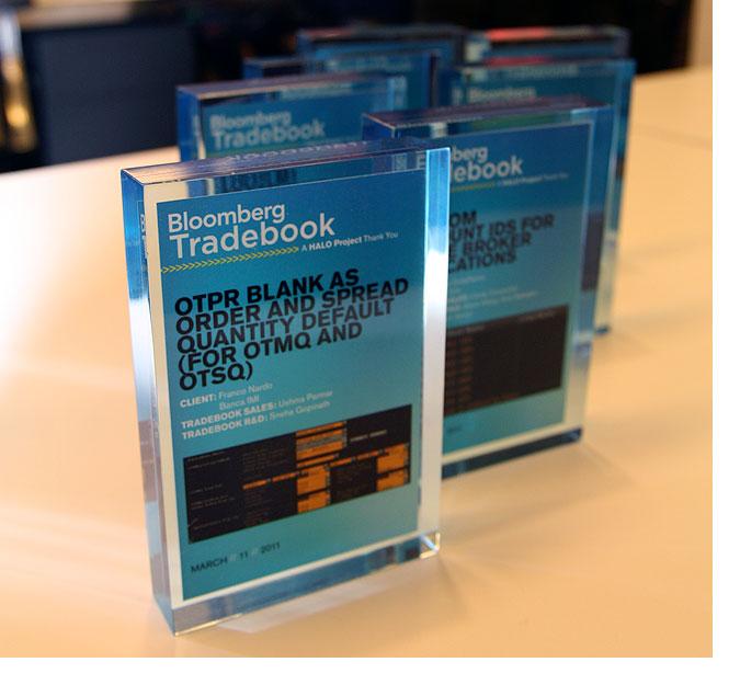Tradebook Developmental Partner Award 1