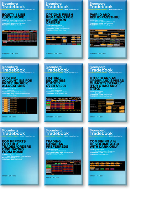 Tradebook Appreciation Lucite Designs