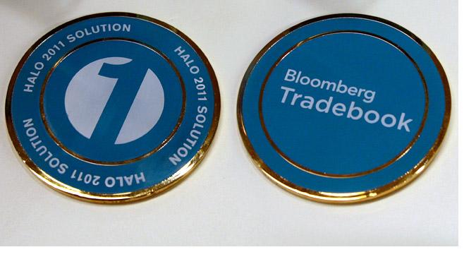 Tradebook Promotional Medallion 2